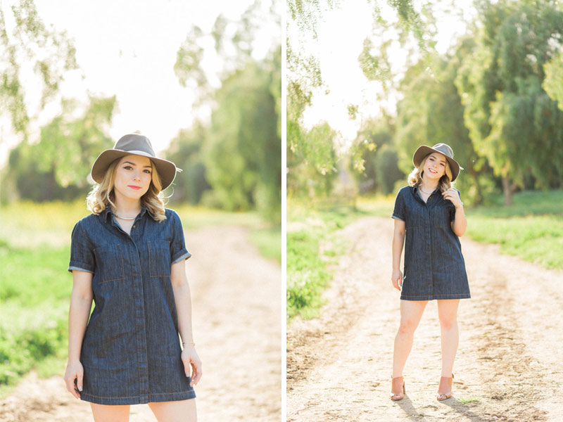 An outdoor engagement session in San Dimas by Wedding Photographer Madison Ellis