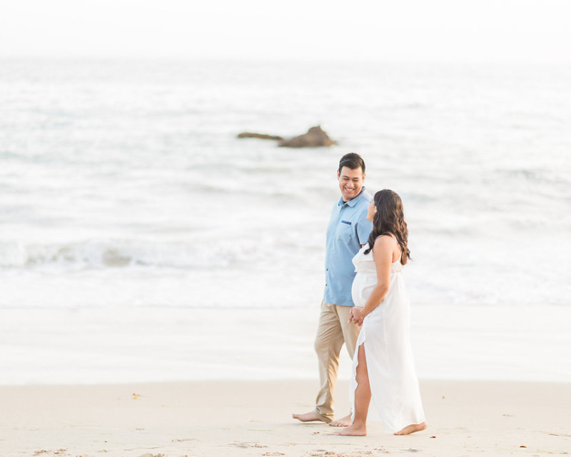 Laguna Beach Maternity Session | Madison Ellis Photography