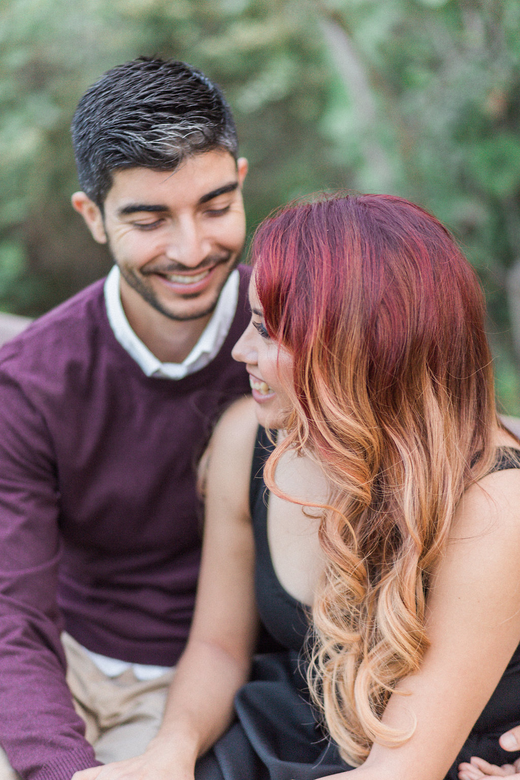 Vista Hermosa Park Diana + Ignacio Engagement Madison Ellis Photography