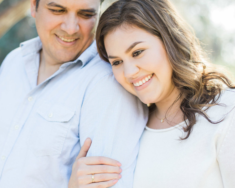 A Rancho Santa Ana Botanic Garden Engagement Session by Madison Ellis Photography