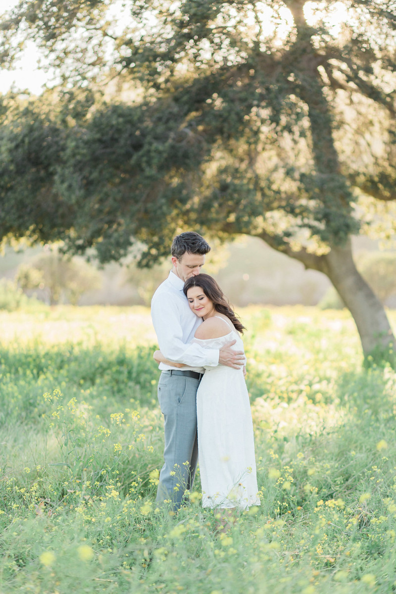 A Spring Inspired Engagement Shoot At Hamilton Oaks Winery, San Juan Capistrano by Madison Ellis Photography