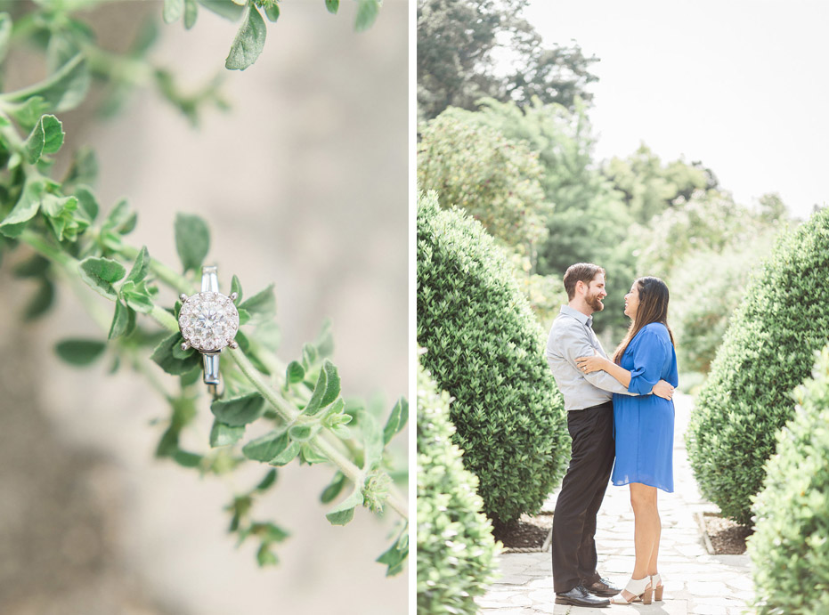 Herb Garden Inspired Engagement Shoot At The LA Arboretum Arcadia By Madison Ellis Photography