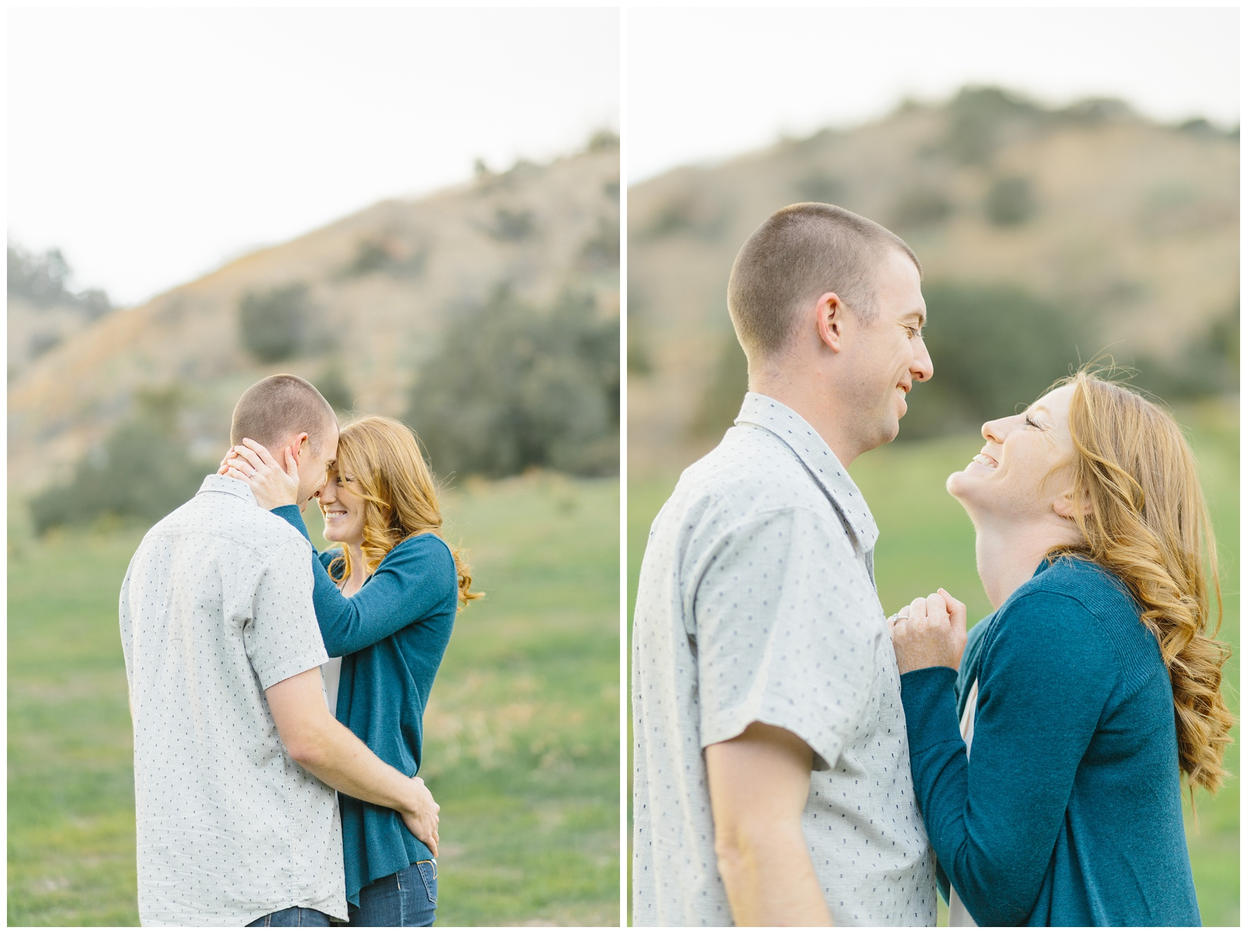 Open Field Engagement Session Near Los Angeles (8)