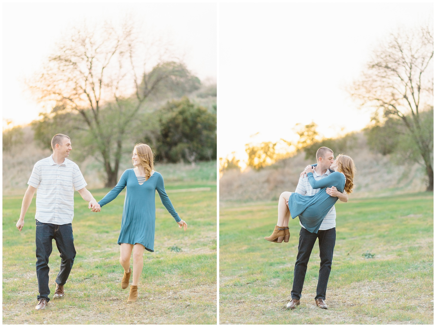 Open Field Engagement Session Near Los Angeles (2)