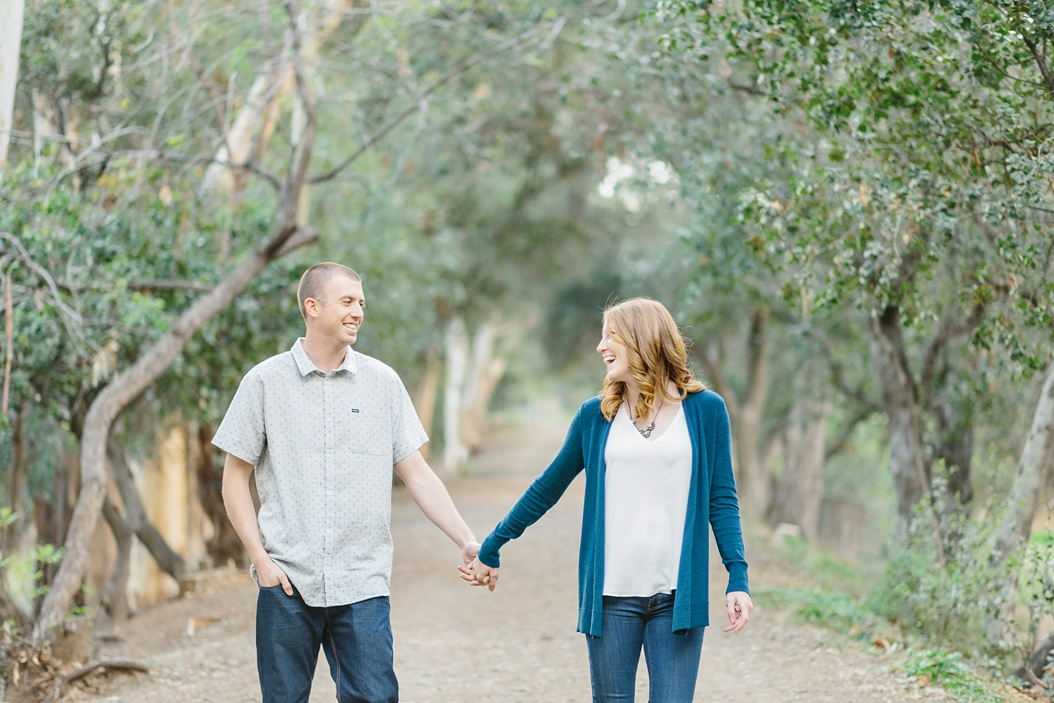 Open Field Engagement Session Near Los Angeles