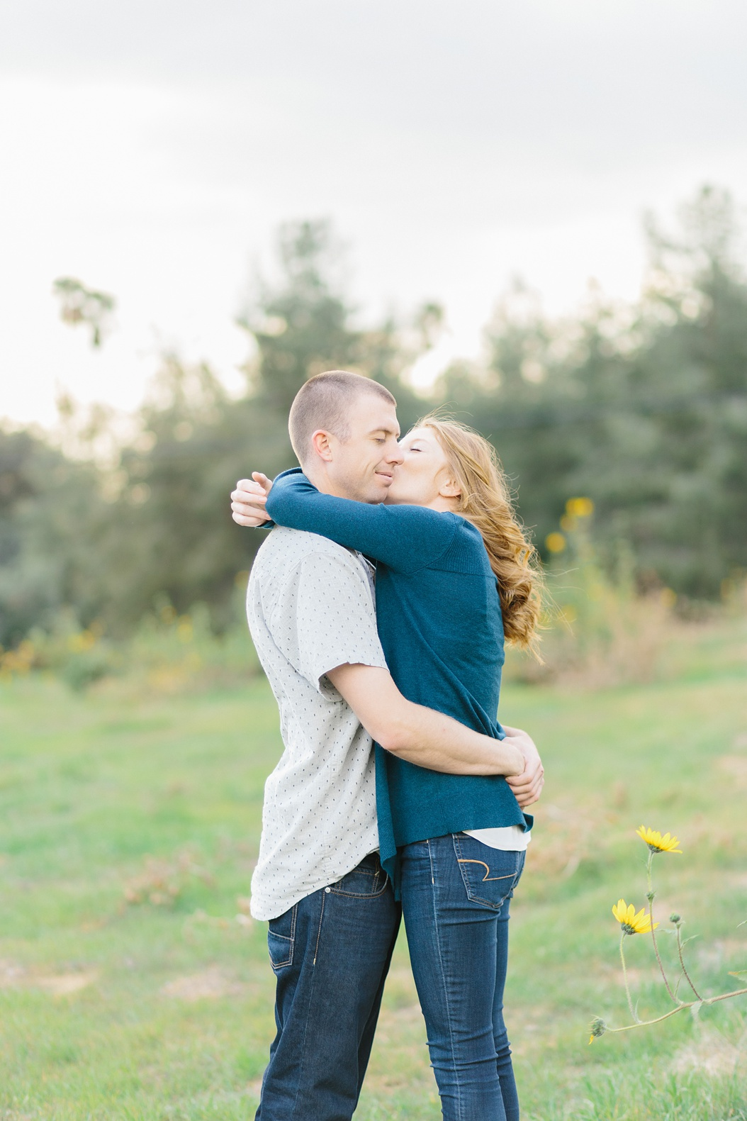 Open Field Engagement Session Near Los Angeles (4)