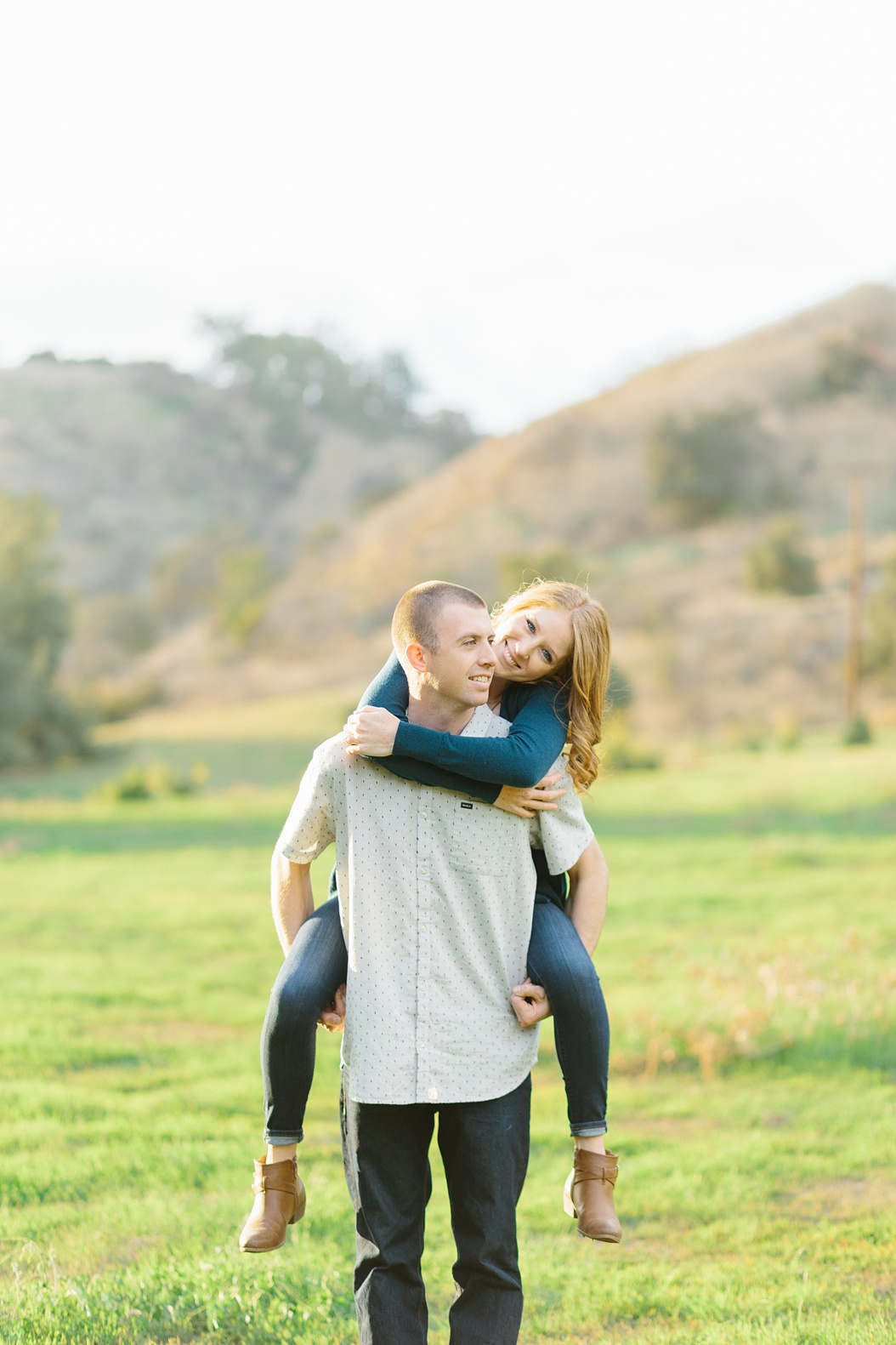 Open Field Engagement Session Near Los Angeles (39)