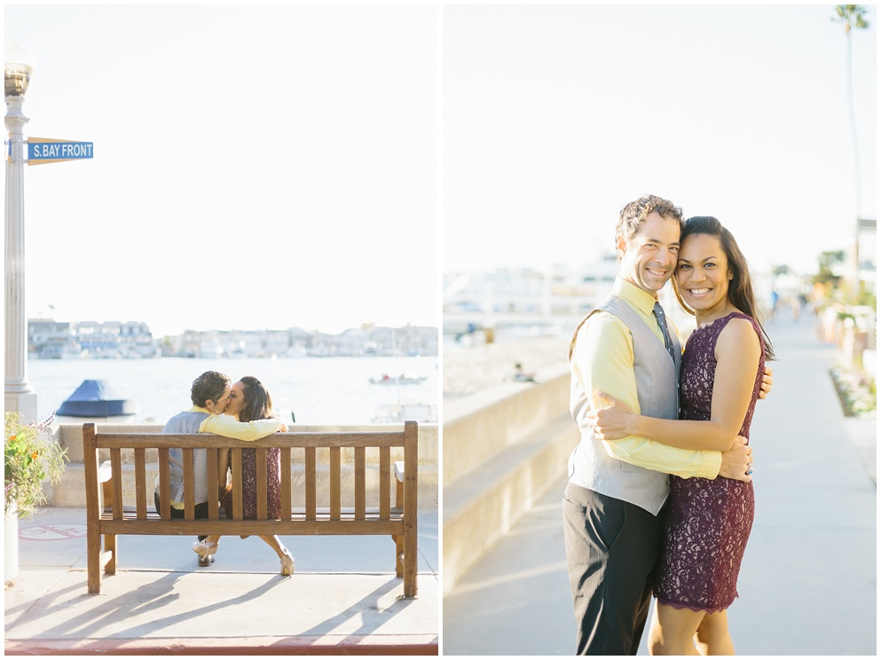 A fun & romantic engagement session at Balboa Island Newport Beach by wedding photographer Madison Ellis. (12)
