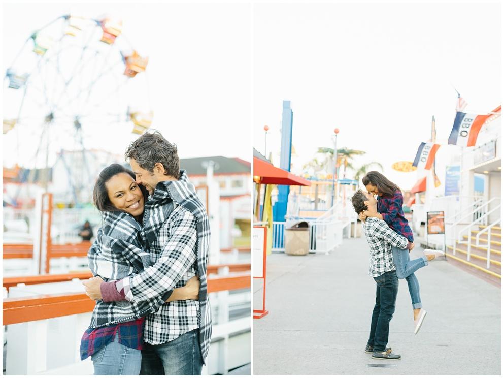 A fun & romantic engagement session at Balboa Island Newport Beach by wedding photographer Madison Ellis. (7)