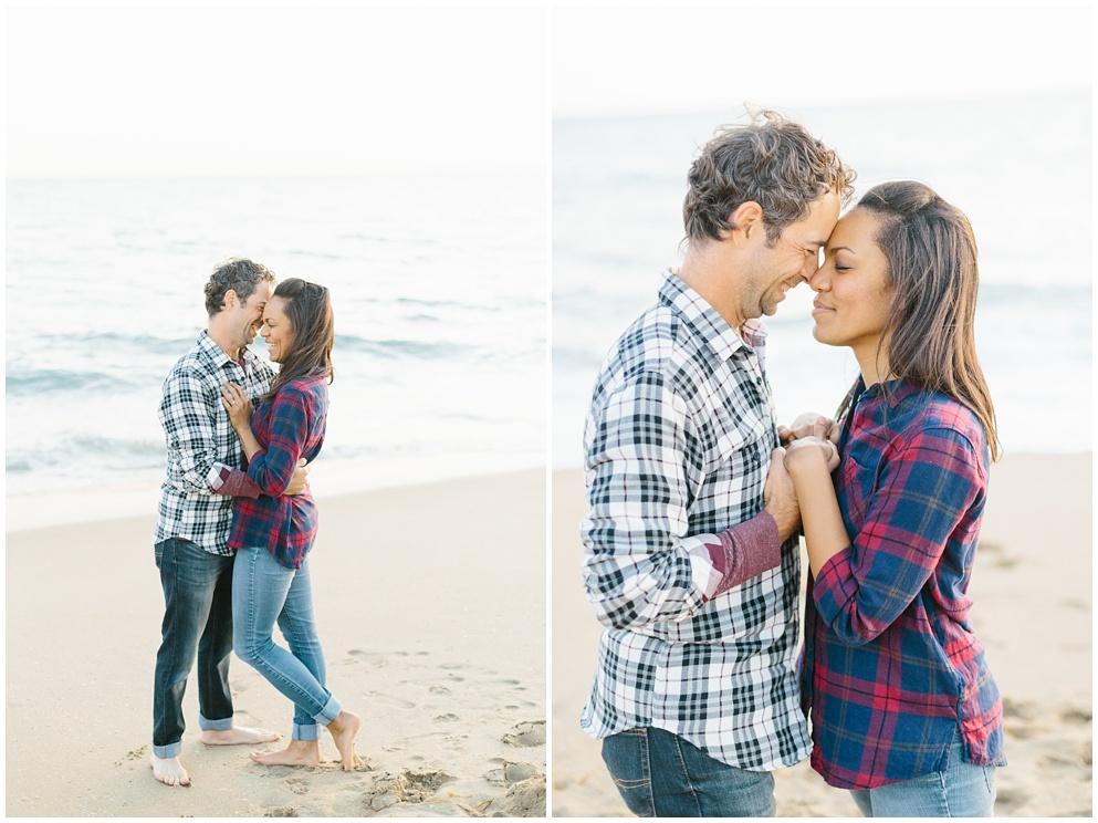 A fun & romantic engagement session at Balboa Island Newport Beach by wedding photographer Madison Ellis. (6)