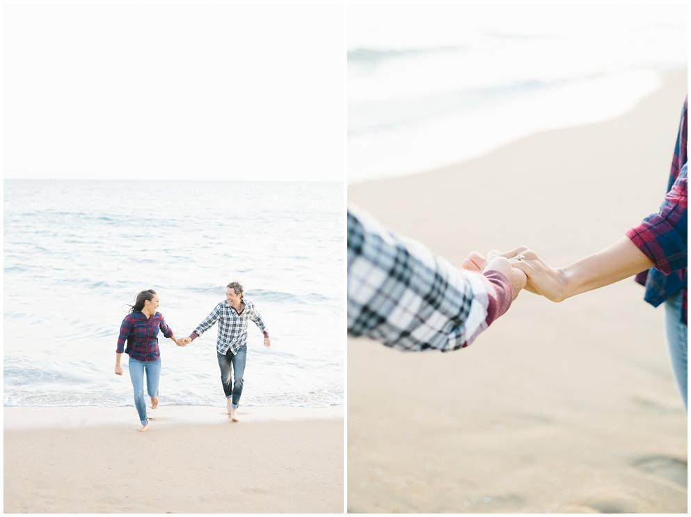 A fun & romantic engagement session at Balboa Island Newport Beach by wedding photographer Madison Ellis. (2)