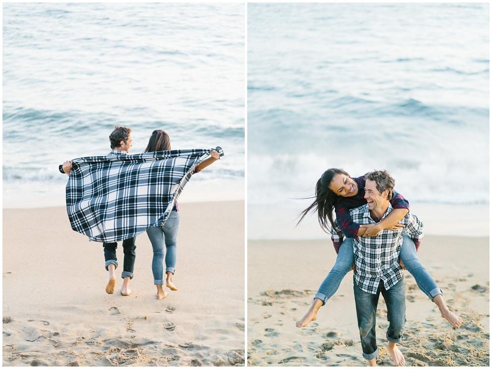 A fun & romantic engagement session at Balboa Island Newport Beach by wedding photographer Madison Ellis. (5)