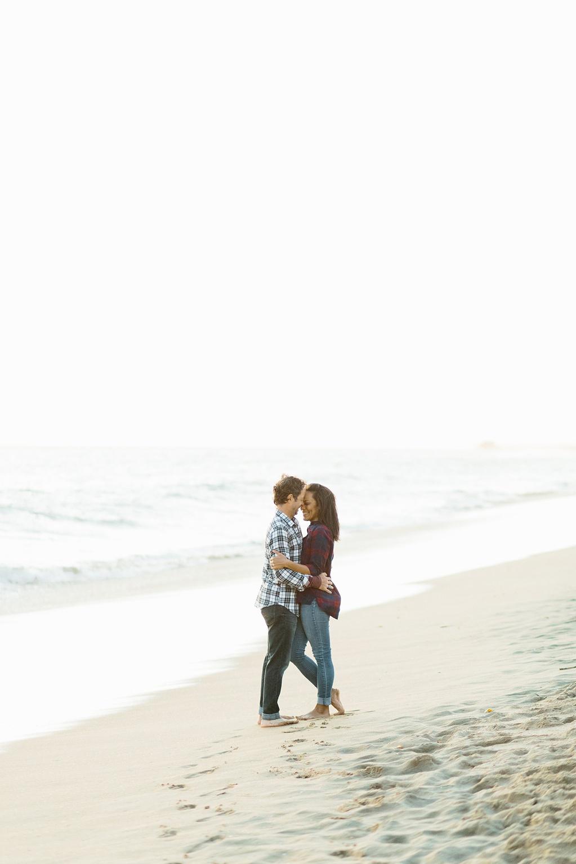 A fun & romantic engagement session at Balboa Island Newport Beach by wedding photographer Madison Ellis. (23)