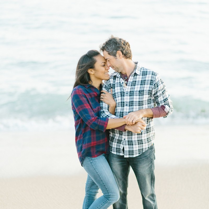A fun & romantic engagement session at Balboa Island Newport Beach by wedding photographer Madison Ellis. (20)