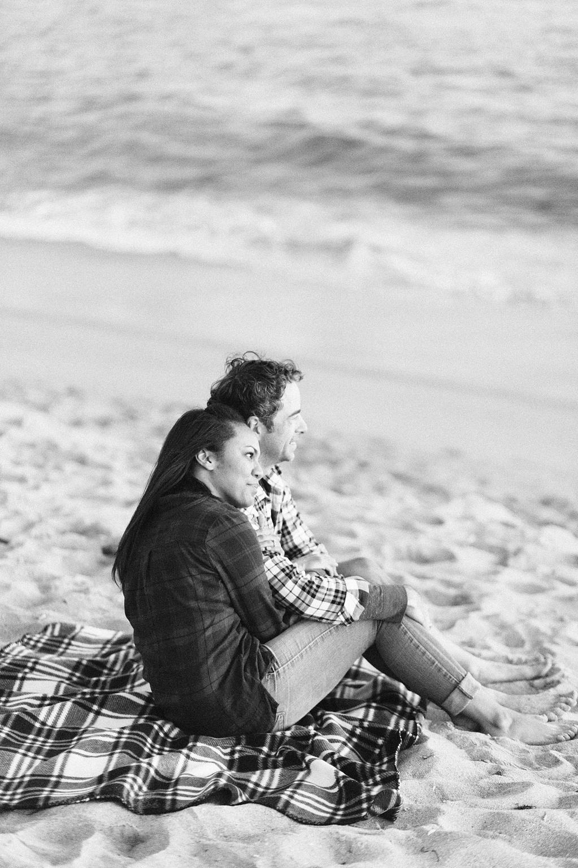 A fun & romantic engagement session at Balboa Island Newport Beach by wedding photographer Madison Ellis. (15)