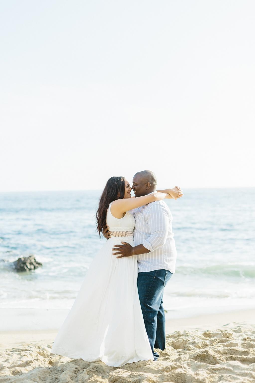 Laguna Beach Engagement, CA: Joshua + Ashley. A sweet and playful engagement session at Laguna Beach by wedding photographer Madison Ellis. (55)