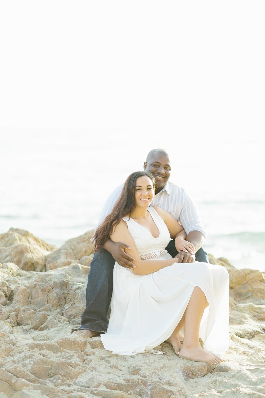 Laguna Beach Engagement, CA: Joshua + Ashley. A sweet and playful engagement session at Laguna Beach by wedding photographer Madison Ellis. (37)