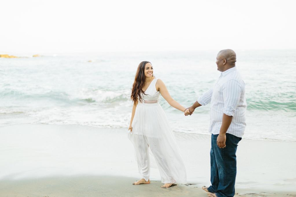 Laguna Beach Engagement, CA: Joshua + Ashley. A sweet and playful engagement session at Laguna Beach by wedding photographer Madison Ellis. (34)