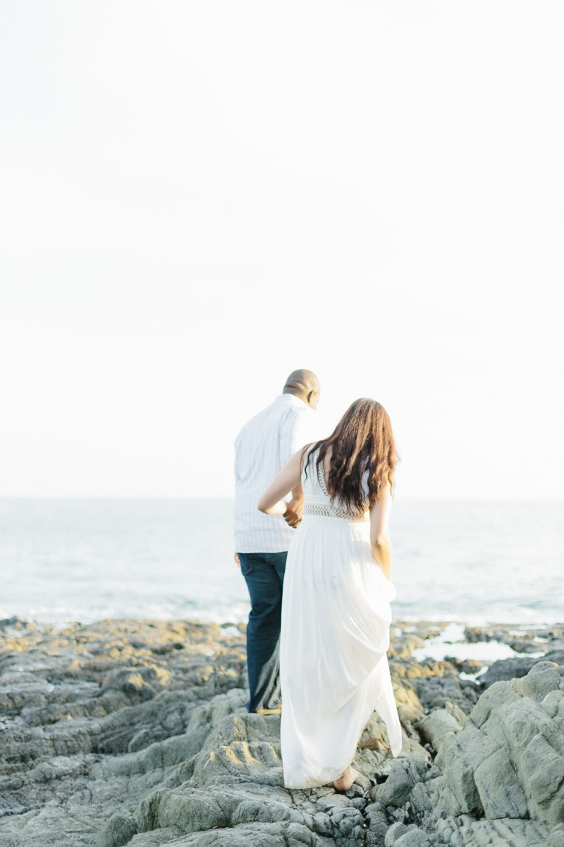 Laguna Beach Engagement, CA: Joshua + Ashley. A sweet and playful engagement session at Laguna Beach by wedding photographer Madison Ellis. (31)