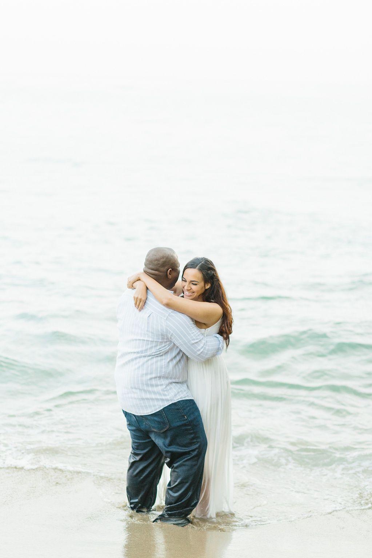 Laguna Beach Engagement, CA: Joshua + Ashley. A sweet and playful engagement session at Laguna Beach by wedding photographer Madison Ellis. (18)