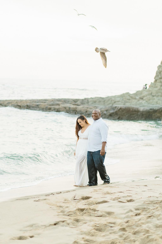 Laguna Beach Engagement, CA: Joshua + Ashley. A sweet and playful engagement session at Laguna Beach by wedding photographer Madison Ellis. (16)