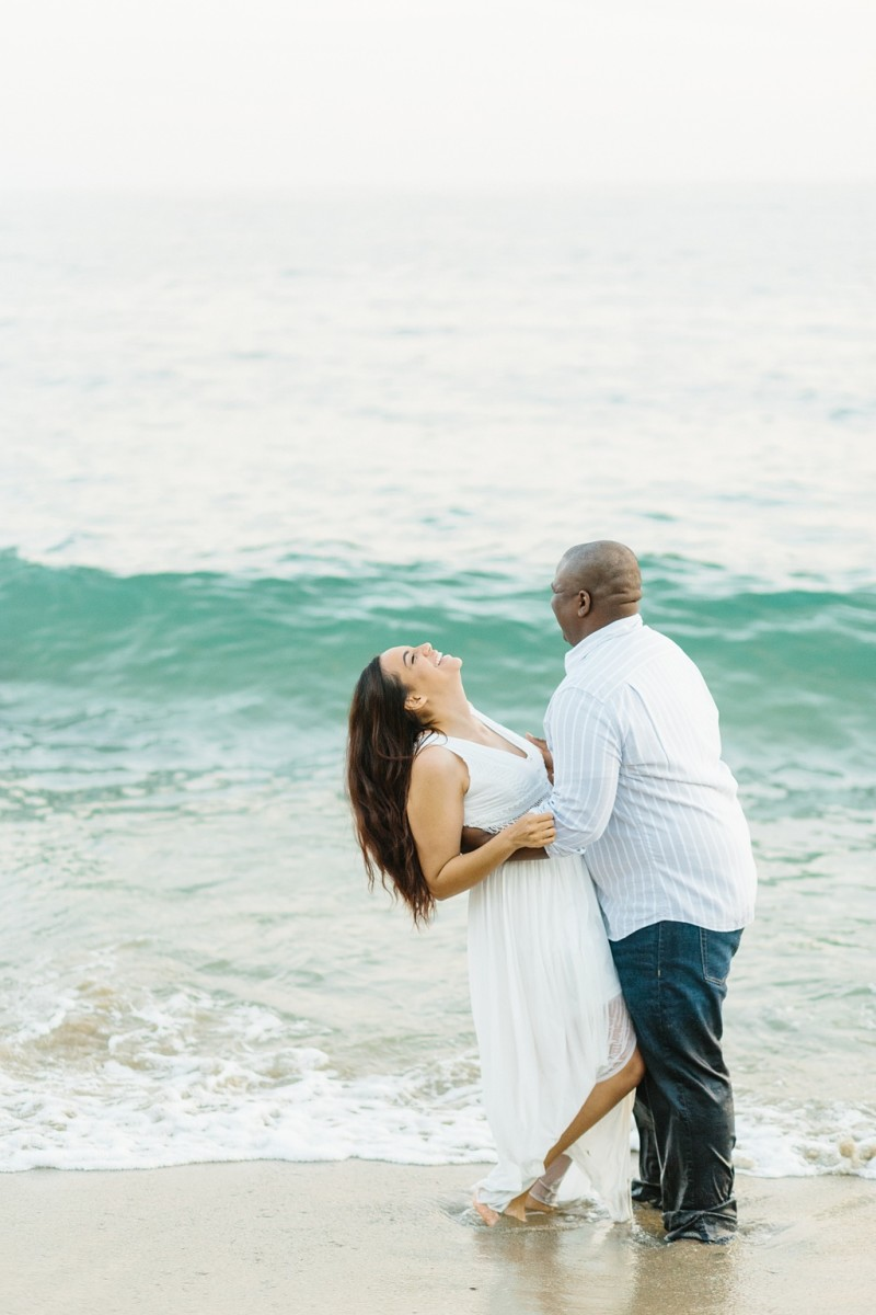 Laguna Beach Engagement, CA: Joshua + Ashley. A sweet and playful engagement session at Laguna Beach by wedding photographer Madison Ellis. (15)