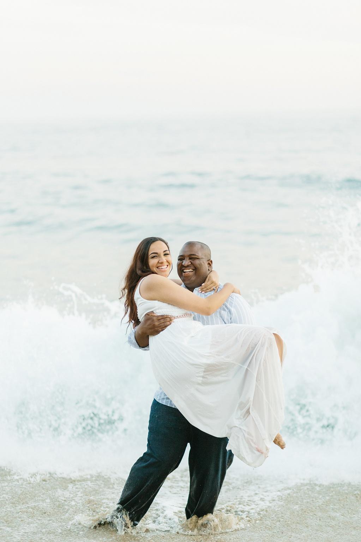 Laguna Beach Engagement, CA: Joshua + Ashley. A sweet and playful engagement session at Laguna Beach by wedding photographer Madison Ellis. (12)