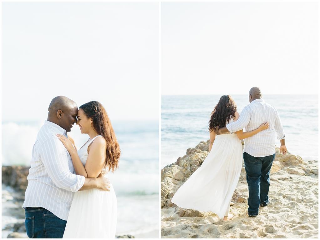 Laguna Beach Engagement, CA: Joshua + Ashley. A sweet and playful engagement session at Laguna Beach by wedding photographer Madison Ellis. (8)