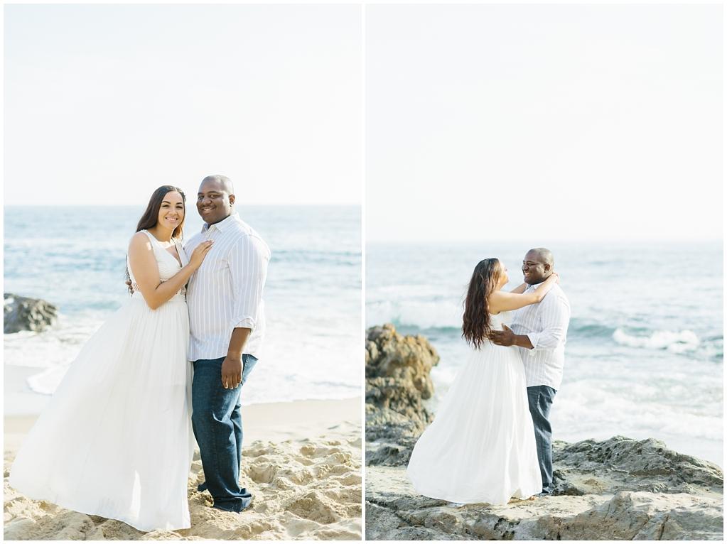 Laguna Beach Engagement, CA: Joshua + Ashley. A sweet and playful engagement session at Laguna Beach by wedding photographer Madison Ellis. (6)