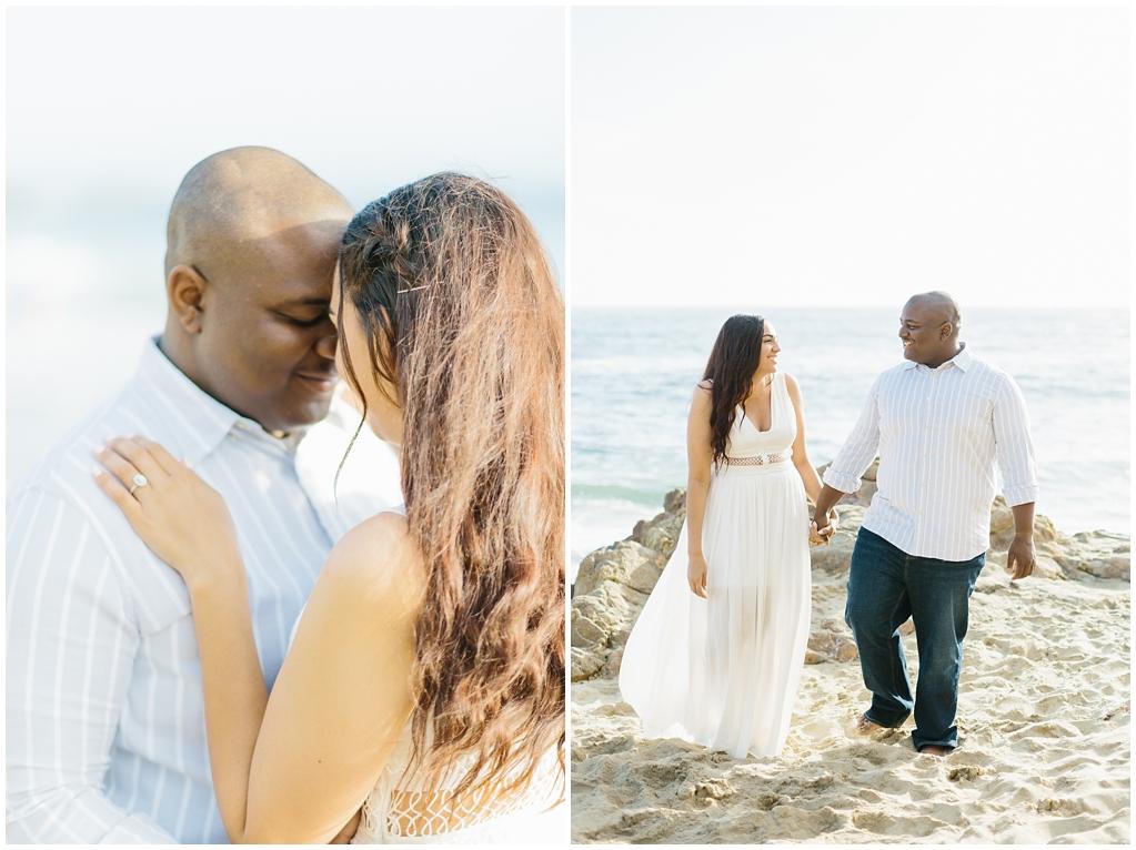Laguna Beach Engagement, CA: Joshua + Ashley. A sweet and playful engagement session at Laguna Beach by wedding photographer Madison Ellis. (5)