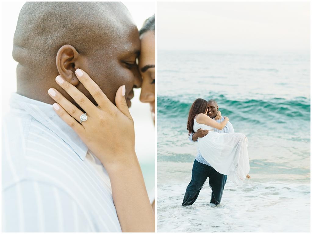 Laguna Beach Engagement, CA: Joshua + Ashley. A sweet and playful engagement session at Laguna Beach by wedding photographer Madison Ellis. (1)