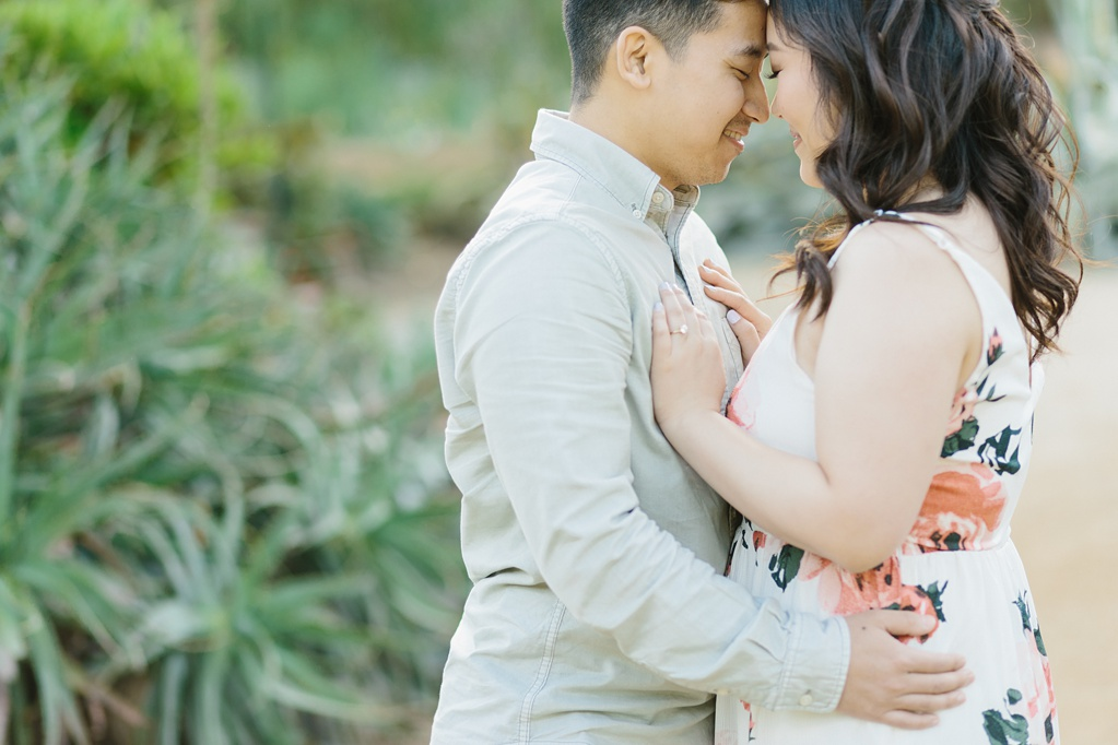 Organic floral inspired spring engagement session at Arlington Gardens Pasadena by wedding photographer Madison Ellis. (53)