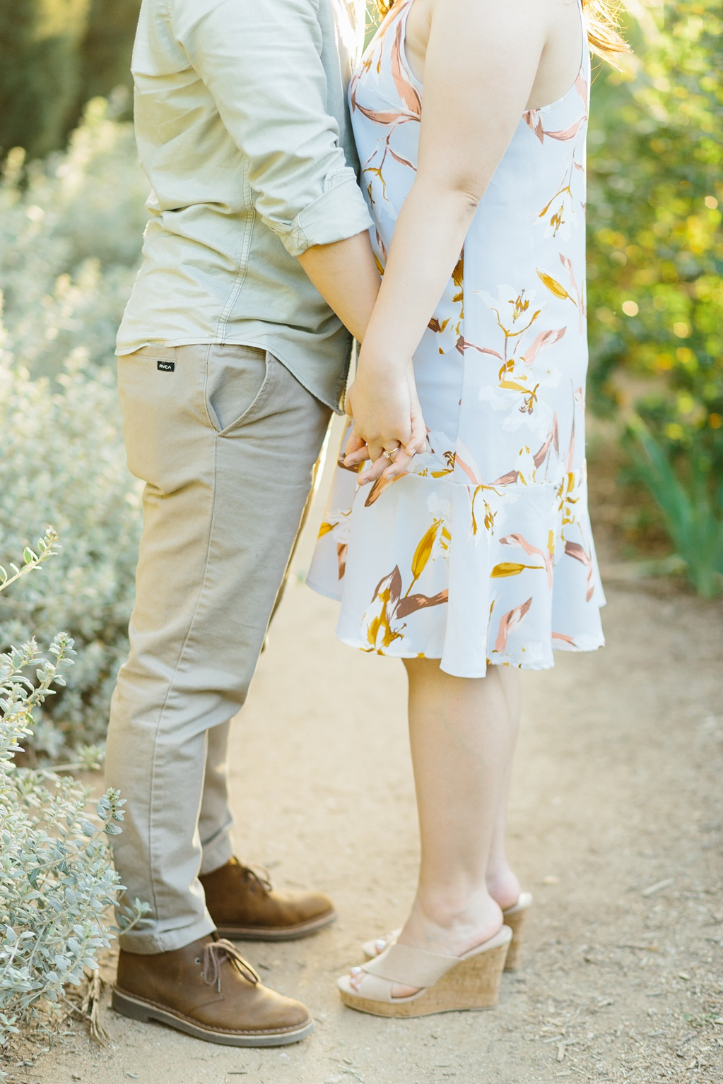 Organic floral inspired spring engagement session at Arlington Gardens Pasadena by wedding photographer Madison Ellis. (35)