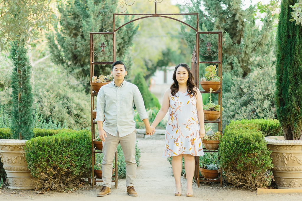 Organic floral inspired spring engagement session at Arlington Gardens Pasadena by wedding photographer Madison Ellis. (28)