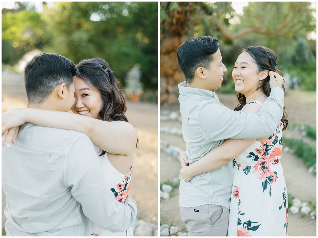 Organic floral inspired spring engagement session at Arlington Gardens Pasadena by wedding photographer Madison Ellis. (12)