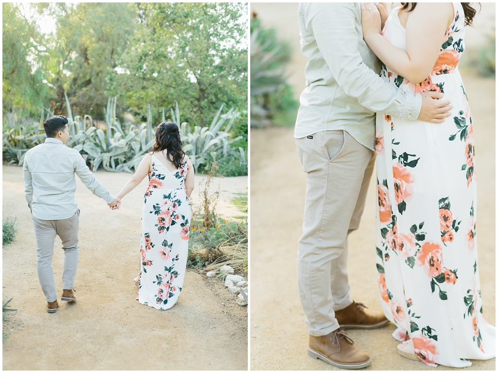 Organic floral inspired spring engagement session at Arlington Gardens Pasadena by wedding photographer Madison Ellis. (11)