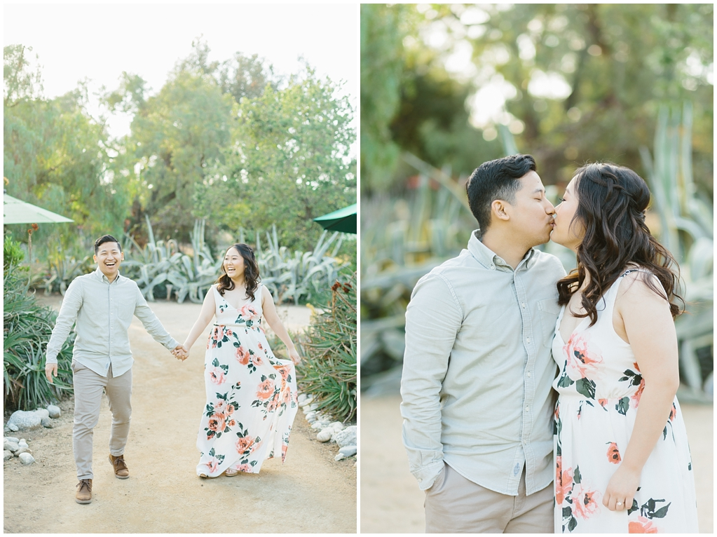 Organic floral inspired spring engagement session at Arlington Gardens Pasadena by wedding photographer Madison Ellis. (10)