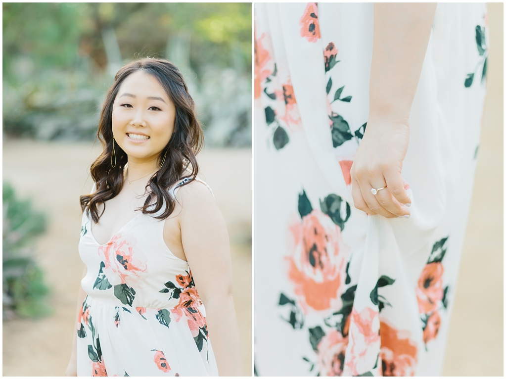 Organic floral inspired spring engagement session at Arlington Gardens Pasadena by wedding photographer Madison Ellis. (8)