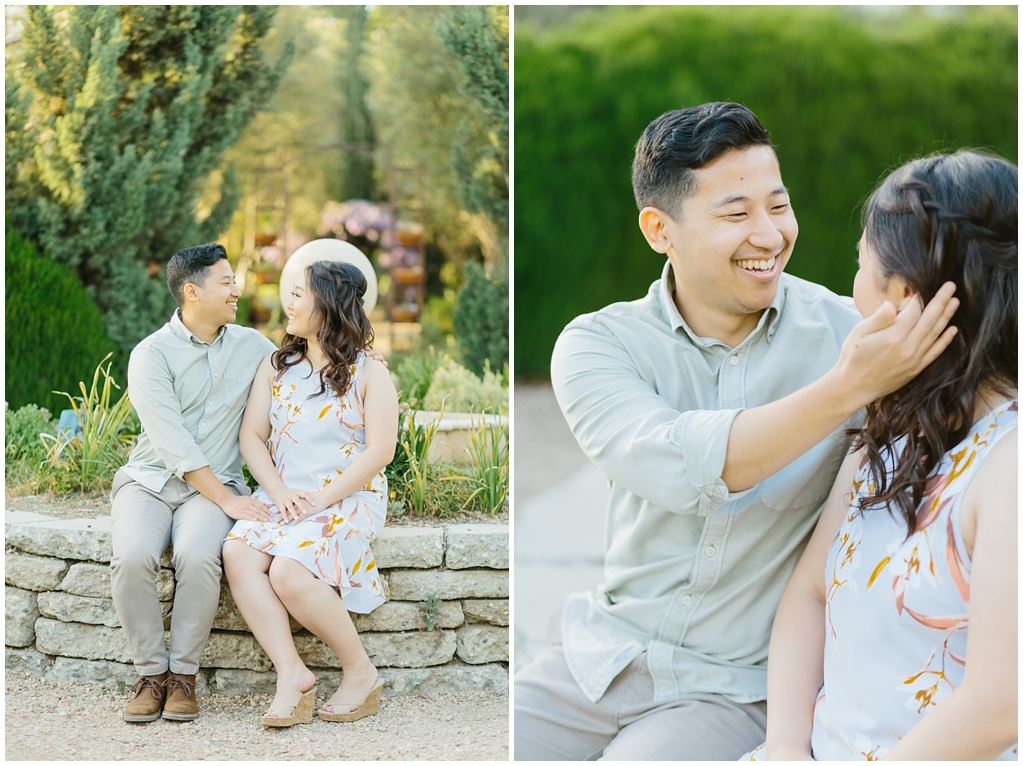 Organic floral inspired spring engagement session at Arlington Gardens Pasadena by wedding photographer Madison Ellis. (5)