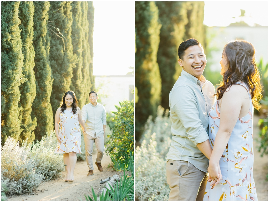 Organic floral inspired spring engagement session at Arlington Gardens Pasadena by wedding photographer Madison Ellis. (4)