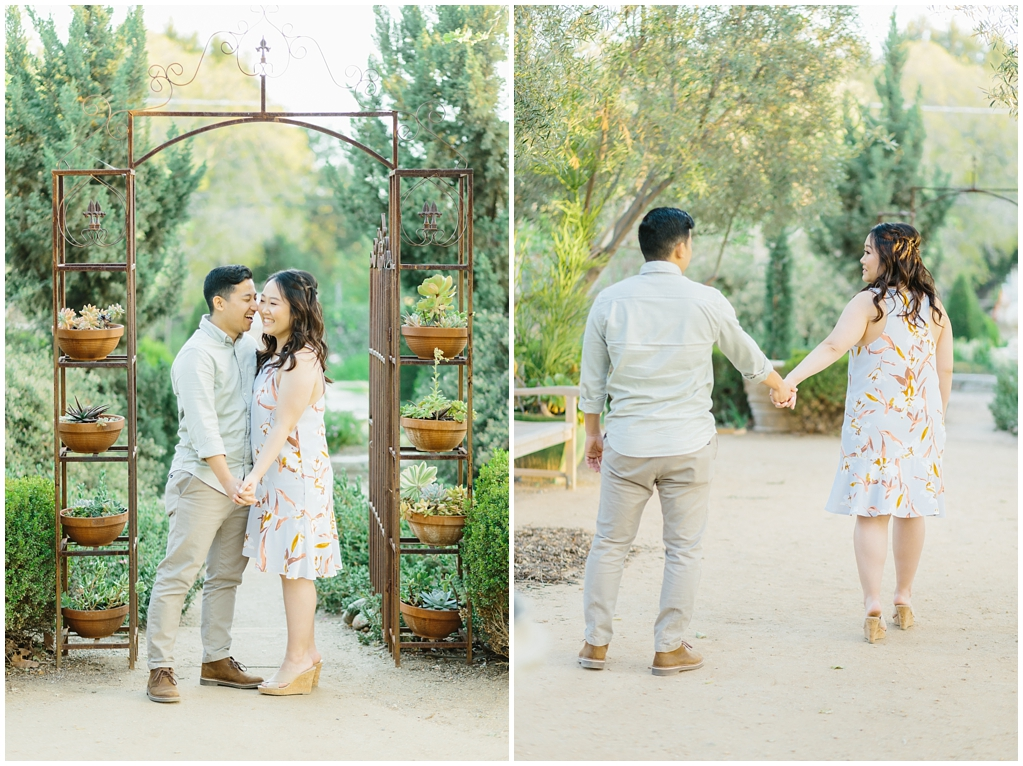 Organic floral inspired spring engagement session at Arlington Gardens Pasadena by wedding photographer Madison Ellis. (2)