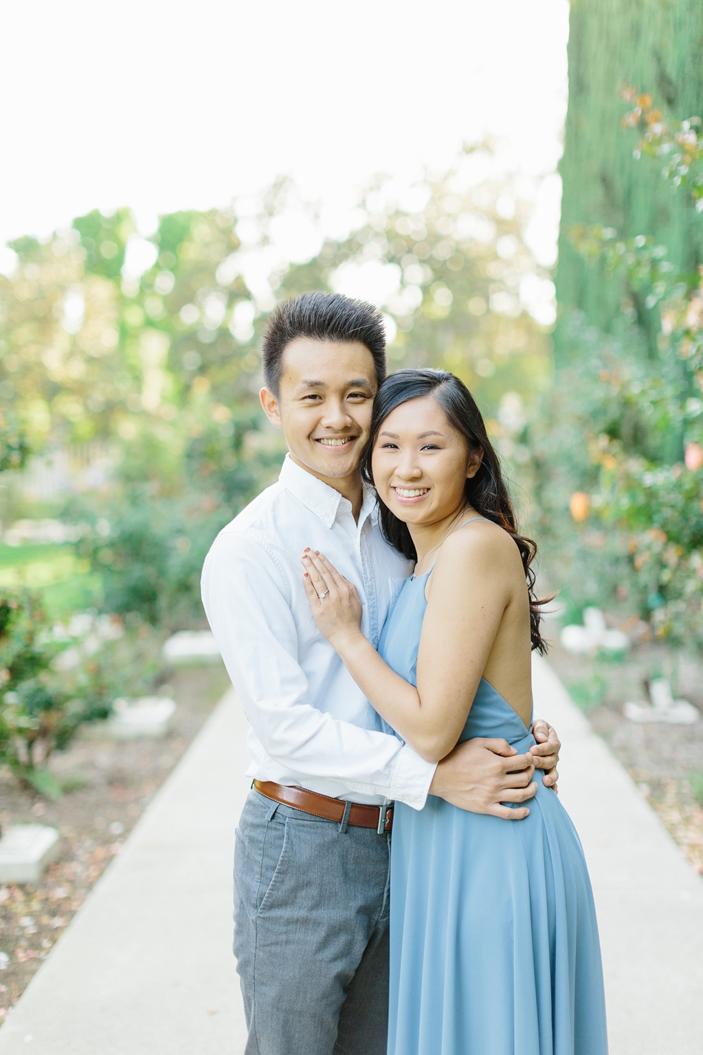 Elegant rose garden engagement shoot at Lacy Park in Pasadena by LA wedding photographer-Madison Ellis Photography (51)