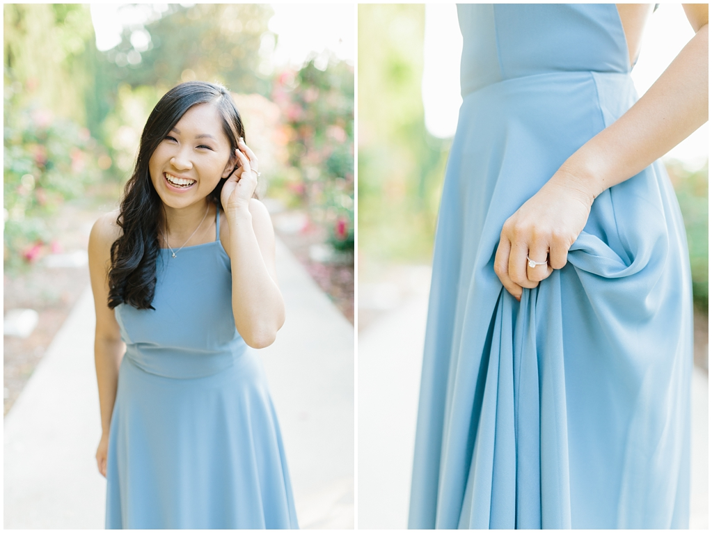 Elegant rose garden engagement shoot at Lacy Park in Pasadena by LA wedding photographer-Madison Ellis Photography (8)
