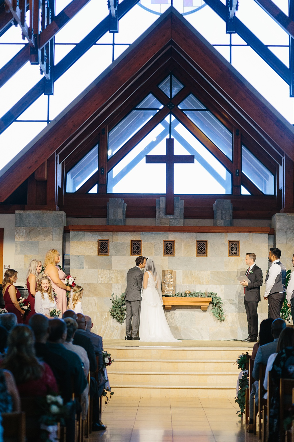 Natural Light Church Wedding In Irvine California By Madison Ellis Photography (19)