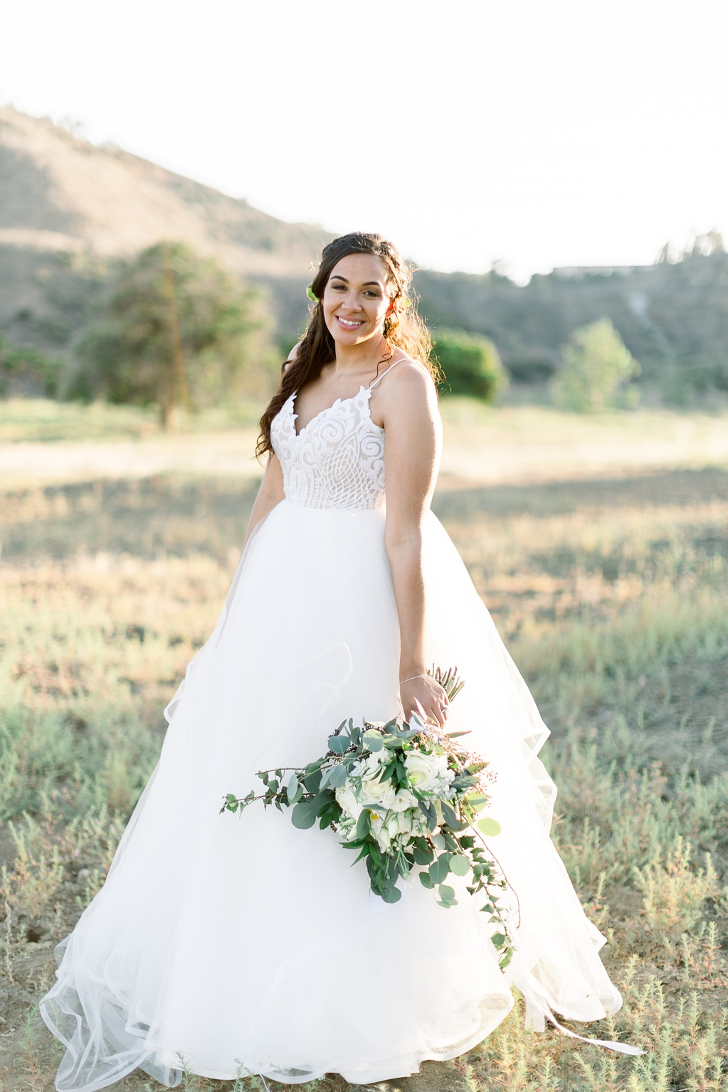 An Organic Floral Inspired Summer Wedding in the open fields of Hamilton Oaks, San Juan Capistrano by Wedding Photographer Madison Ellis (66)