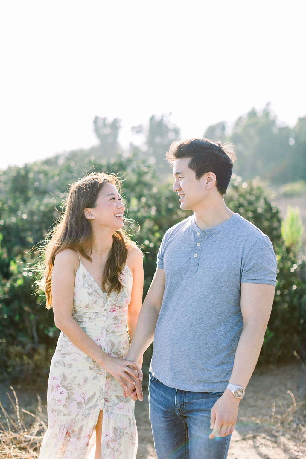 A classic California beach engagement session in Malibu by natural light wedding photographer, Madison Ellis Photography. (56)