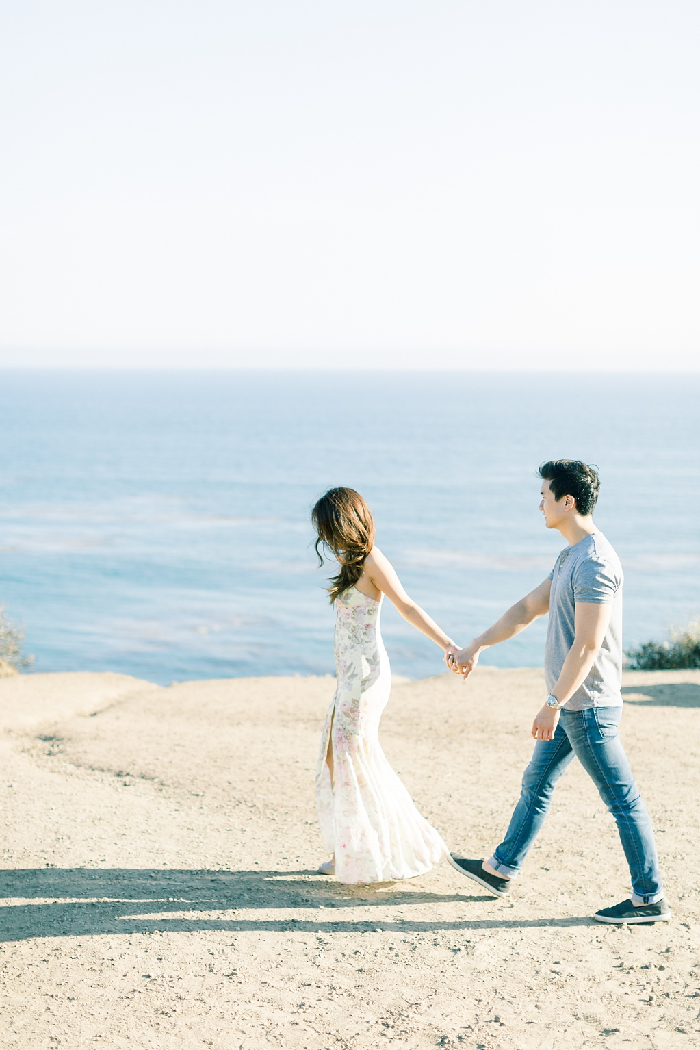 A classic California beach engagement session in Malibu by natural light wedding photographer, Madison Ellis Photography. (49)