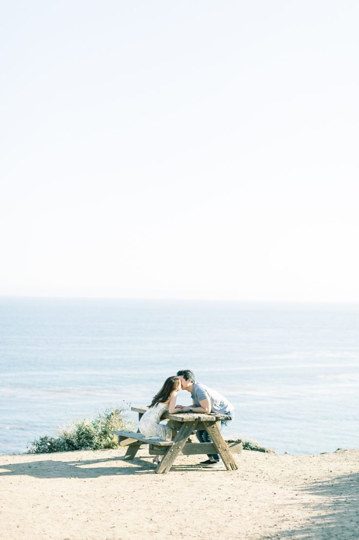 A classic California beach engagement session in Malibu by natural light wedding photographer, Madison Ellis Photography. (46)