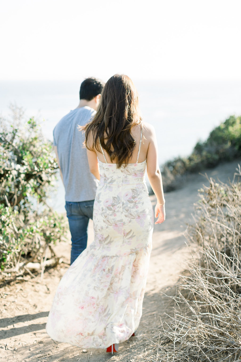 A classic California beach engagement session in Malibu by natural light wedding photographer, Madison Ellis Photography. (43)