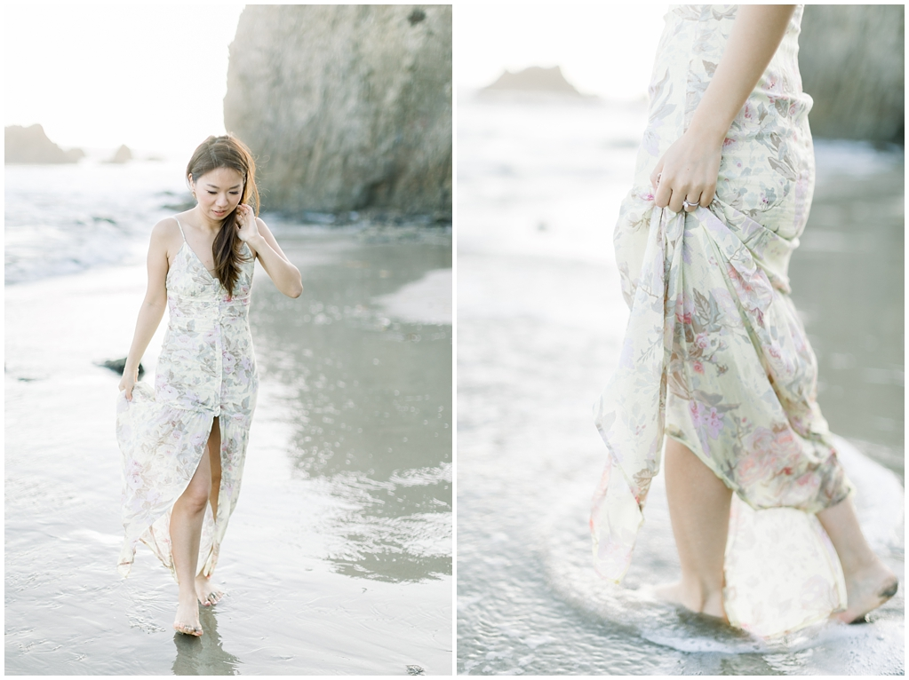 A classic California beach engagement session in Malibu by natural light wedding photographer, Madison Ellis Photography. (18)